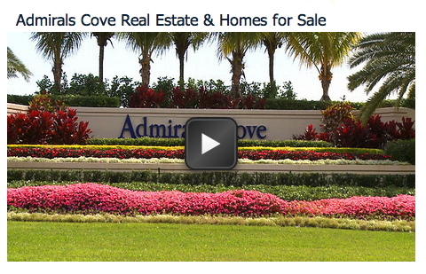 See These Beautiful Waterfront Homes in Admirals Cove FL!
