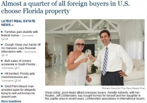 Foreign Buyers Love Florida Homes For Sale