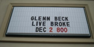 Glenn Beck Broke In Jupiter!