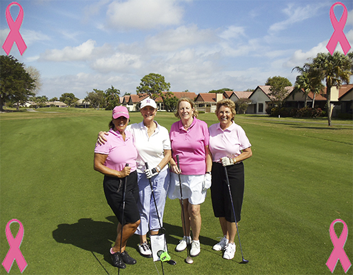 Women's Cancer Awareness at PGA National 2011 | The Haig Course