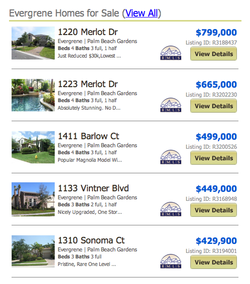 Evergrene homes for sale Listings current