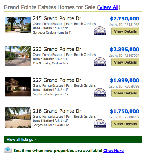 Grand Pointe Estates Listings | Homes for sale
