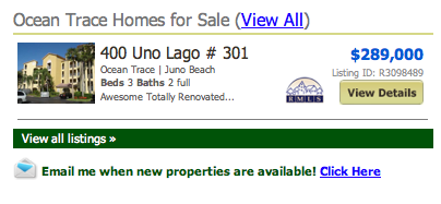 Ocean Trace Homes for Sale (View All) listings
