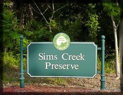 Sims Creek Preserve homes