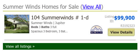 mls search Summer Winds Homes for Sale (View All)