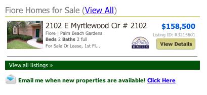 Fiore Condos listings