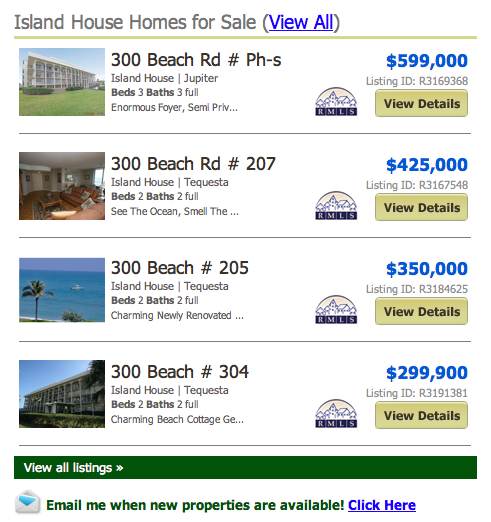 Island House Jupiter Island Condos
