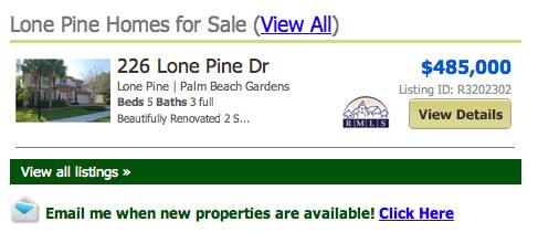 Lone Pine Palm Beach Gardens