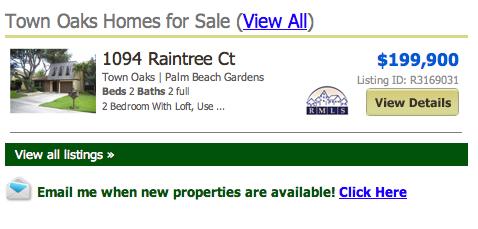Town Oaks Palm Beach Gardens Townhomes
