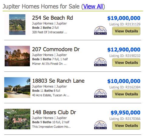 Penn Waterway Jupiter Homes