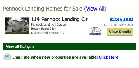 Pennock Landing Jupiter Homes