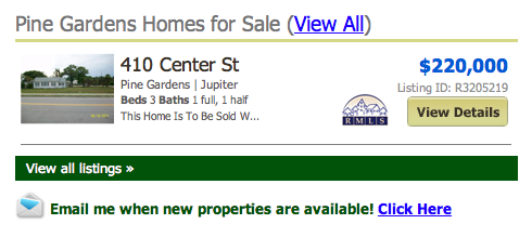 Pine Gardens Homes for Sale