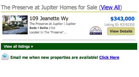 Preserve at the Shores Jupiter Homes