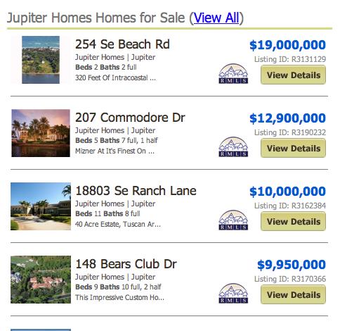 Rialto Jupiter Homes