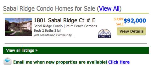 Sabal Ridge Palm Beach Gardens Condos