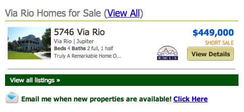 Via Rio Jupiter homes
