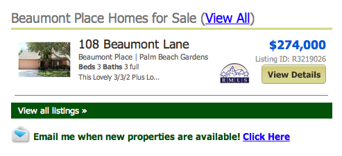 Beaumont Place Palm Beach Gardens Townhomes