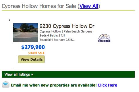 Cypress Hollow Palm Beach Gardens