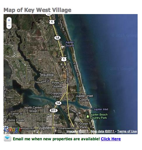 Key West Village Tequesta Homes