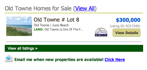 Old Towne Juno Beach Homes