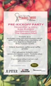 Prader-Willi Palm Beach Gardens Fundraiser