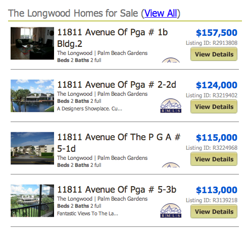 The Longwood Homes for Sale