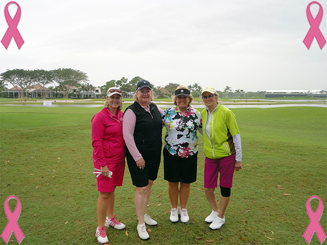 Women's Cancer Awareness at PGA National 2013 | The Palmer Course