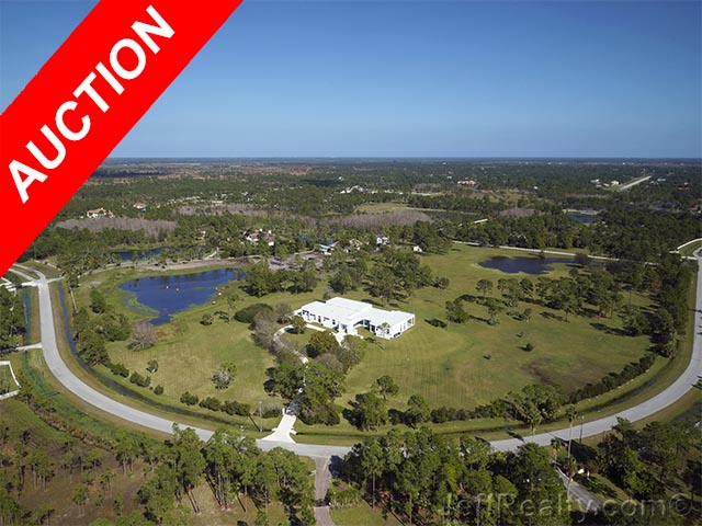 When to Auction a Property | 1901 SE Ranch Road | Ranch Colony | Jupiter