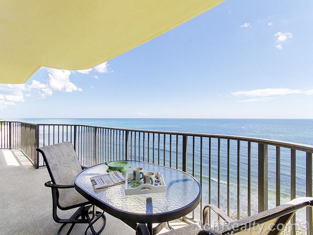 400 Beach Road #702 - Balcony & Ocean View