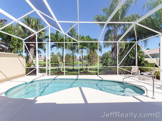 5129 Magnolia Bay Circle - Screened Swimming Pool & View