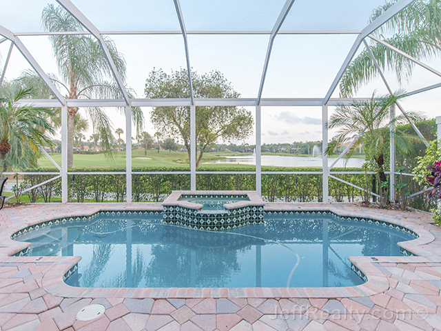 8676 Falcon Green Drive - Screened Swimming Pool & View