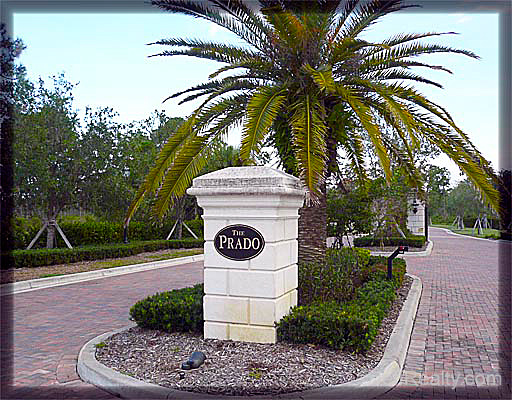 Prado is a new gated community in Jupiter with low HOA fees