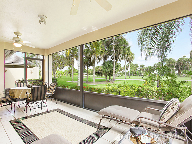 110 Coventry Place - Screened Porch & View