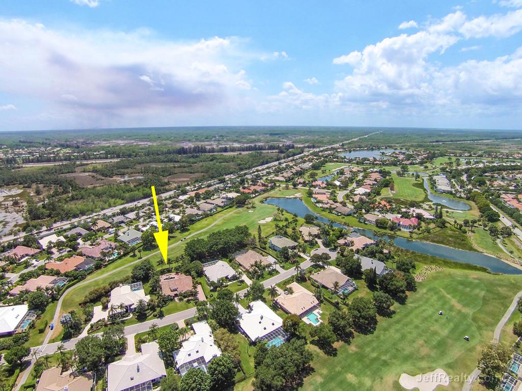 102 Woodsmuir Court - Aerial View