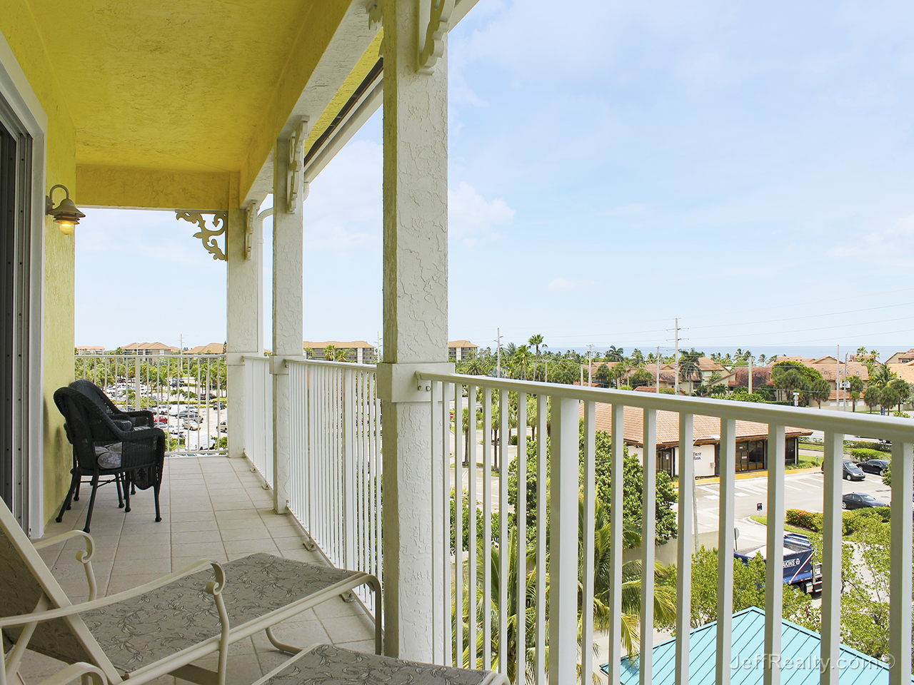 800 Ocean Walk Drive #501A - Balcony & Ocean View