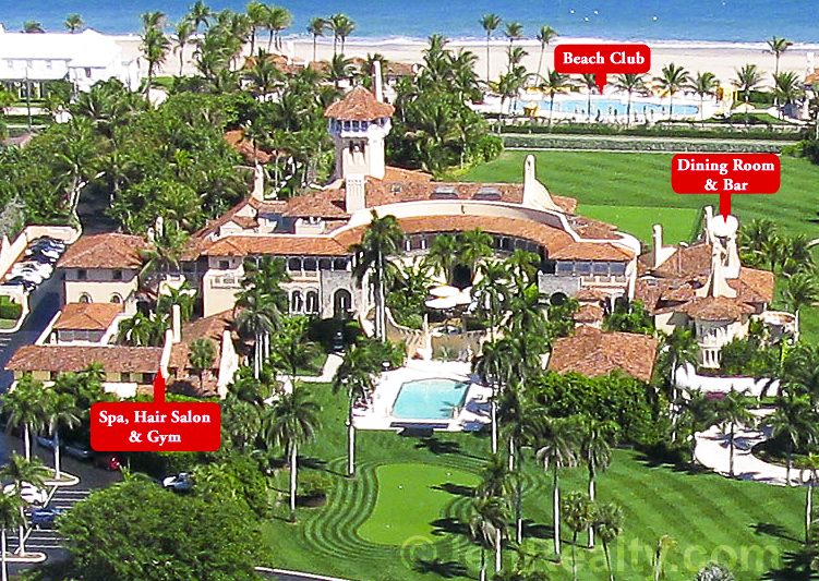 See more exclusive photos of Donald Trump's Mar-a-Lago estate at JeffRealty.com!