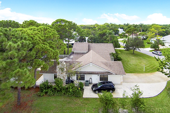 6137 Eagle's Nest Drive - Aerial View