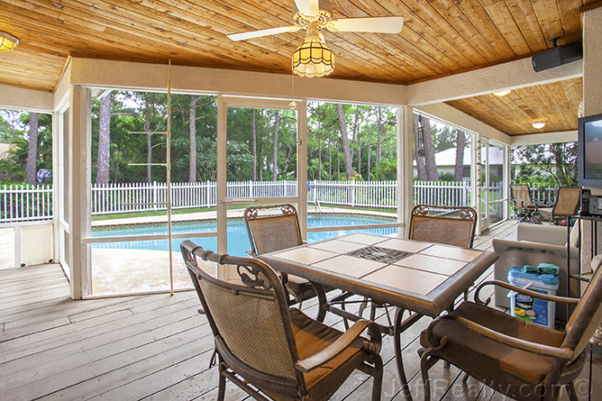 6137 Eagle's Nest Drive - Porch, Swimming Pool & View