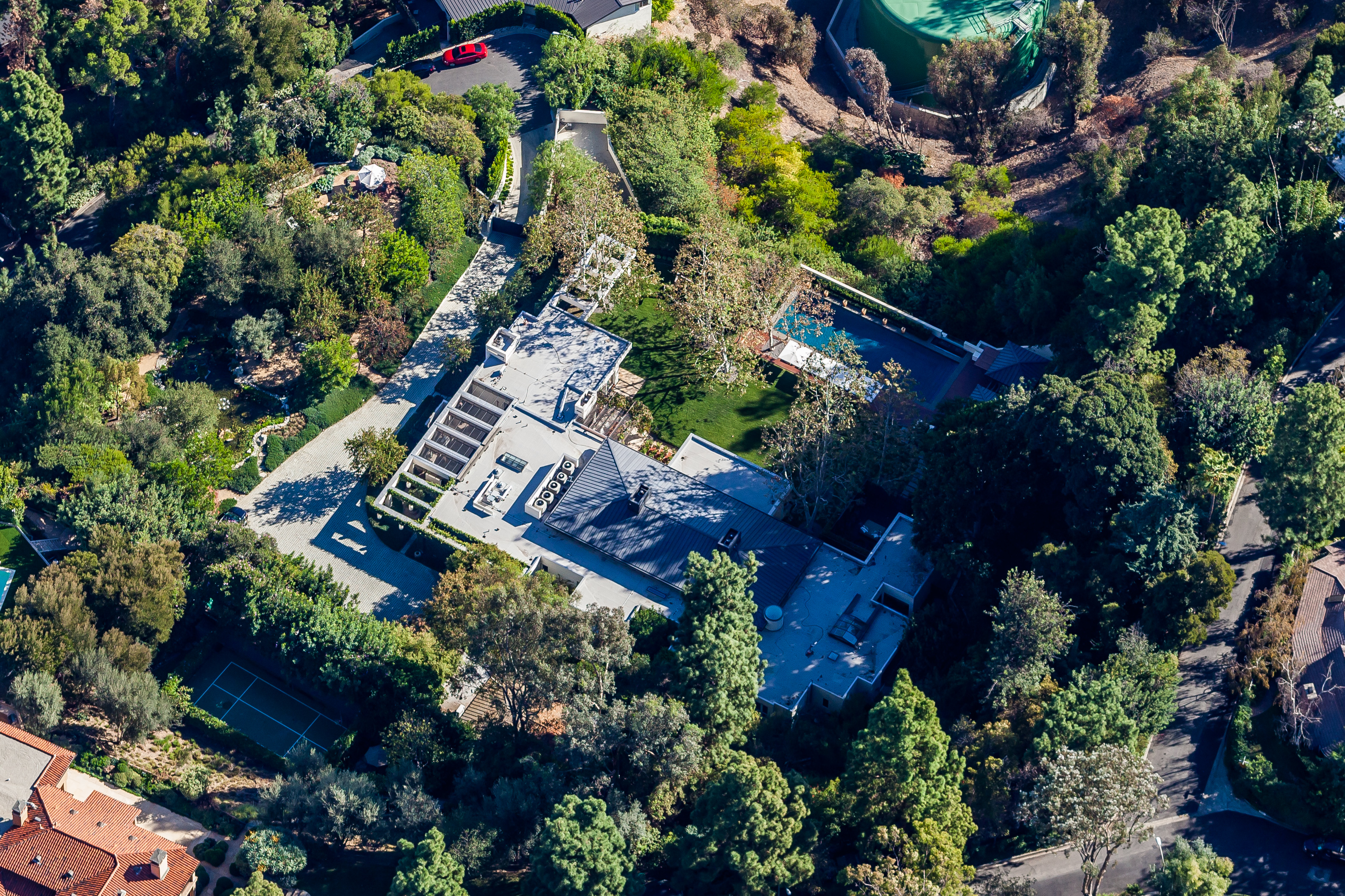 Ryan Seacrest's home includes 9 rooms and spans 3 acres in prestigious Beverly Hills