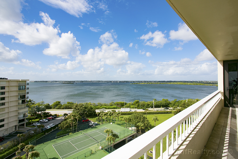 5510 N Ocean Blvd #10-B Intracoastal Waterway View from Balcony