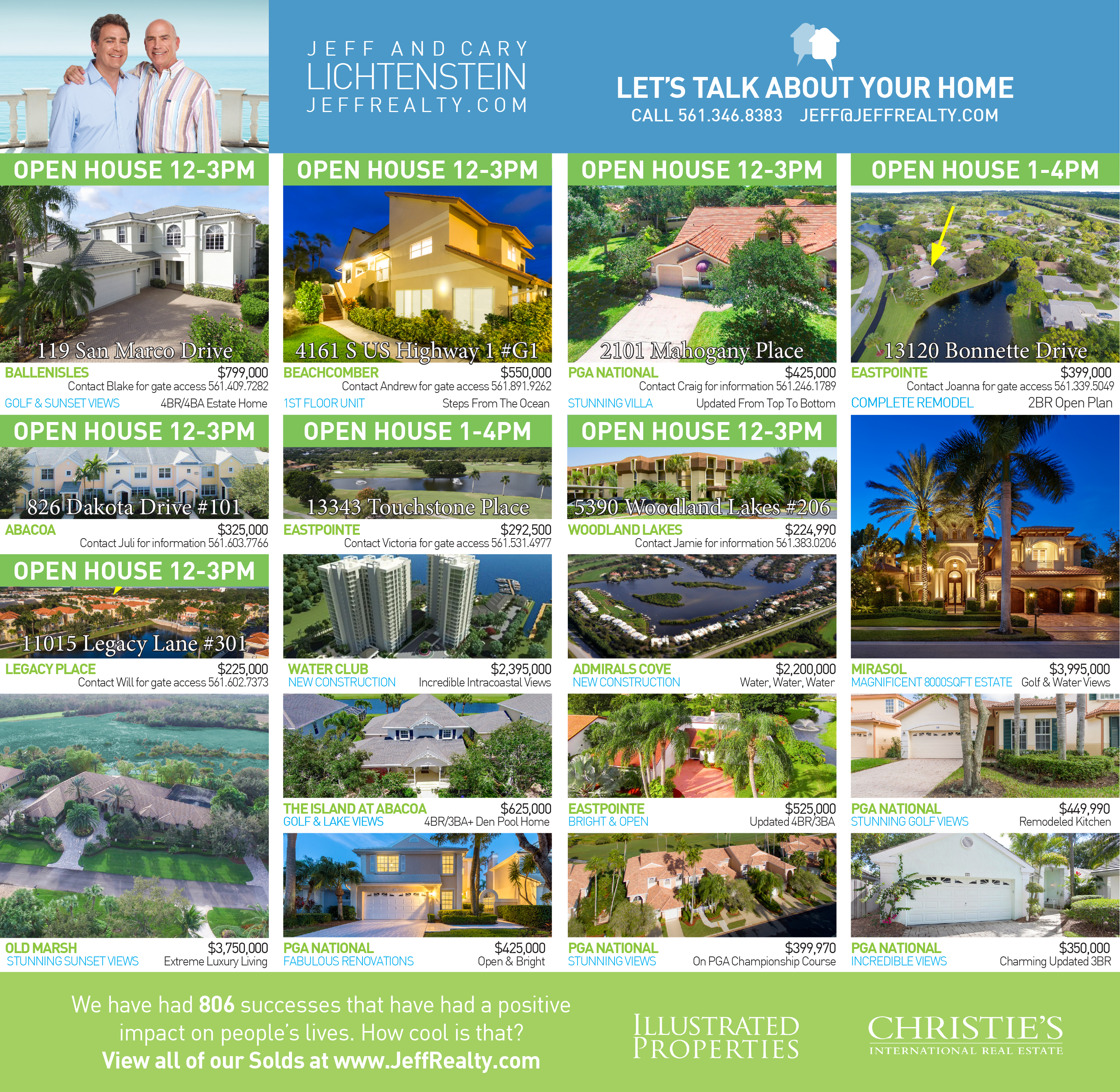 Palm Beach Post Residences Ad – 1-17-16