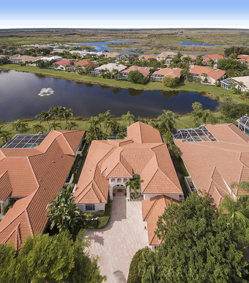 37 Cayman Place - Aerial View - The Island at PGA National
