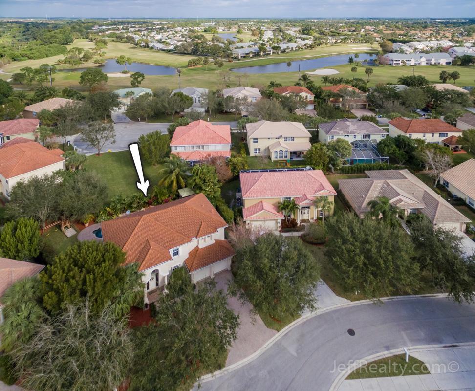 374 Magnolia Drive - Aerial View - Egret Landing