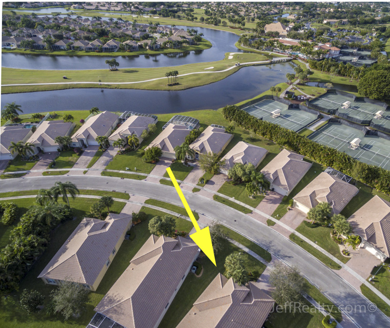 6748 Southport Drive - Aerial View - Aberdeen Golf & Country Club
