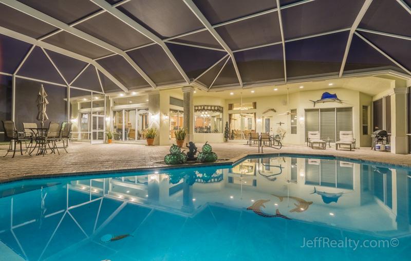 24_pool-night_7856 Woodsmuir Drive_Bay Hill Estates