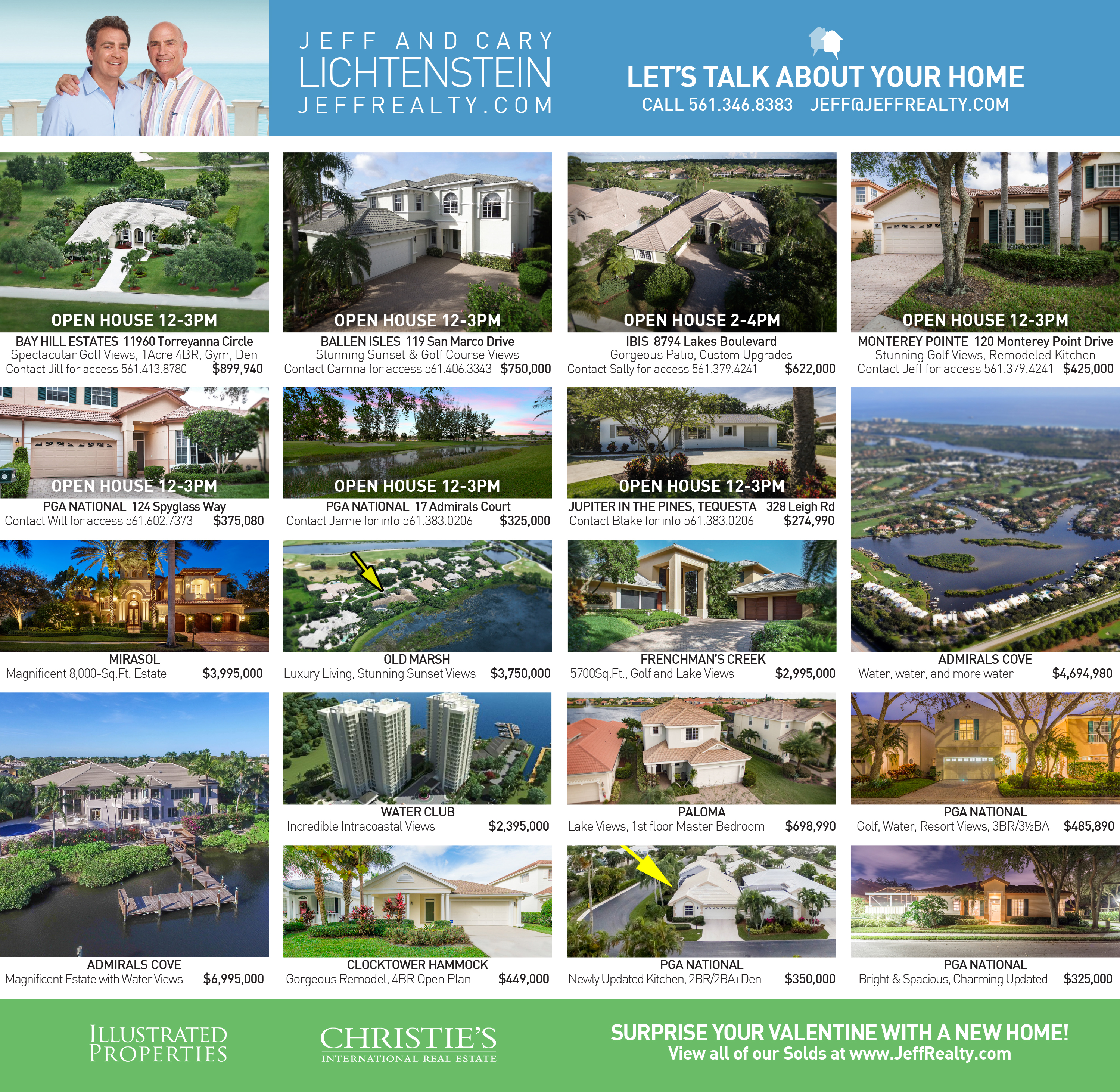 Palm Beach Post | Residences Ad | 2-14-16