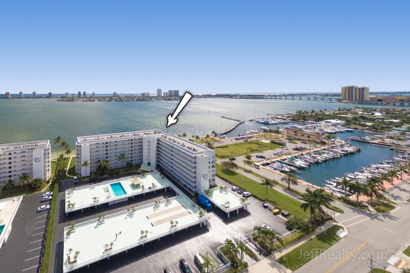 301 Lake Shore Drive #308 - Aerial View - Lake Harbour Towers - Lake Park