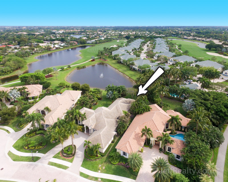 102 St. Edwards Place - Aerial View - BallenIsles - Palm Beach Gardens