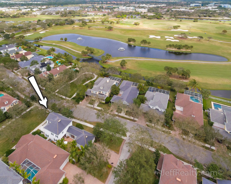 413 St. Martin Lane - Aerial View - The Island at Abacoa