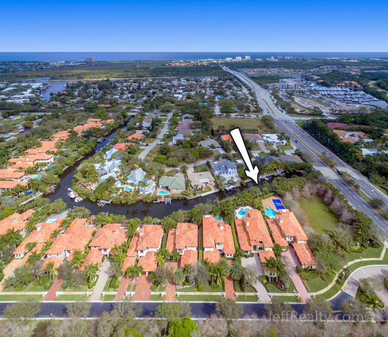14018 Old Cypress Bend - Aerial View - The Cove - Palm Beach Gardens